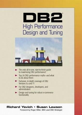 DB2 High Performance Design and Tuning
